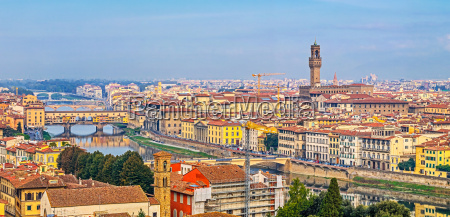aerial view of florence