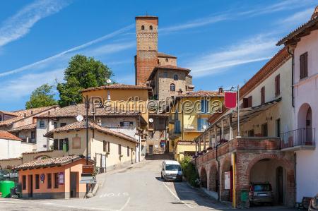 town of serralunga dalba italy