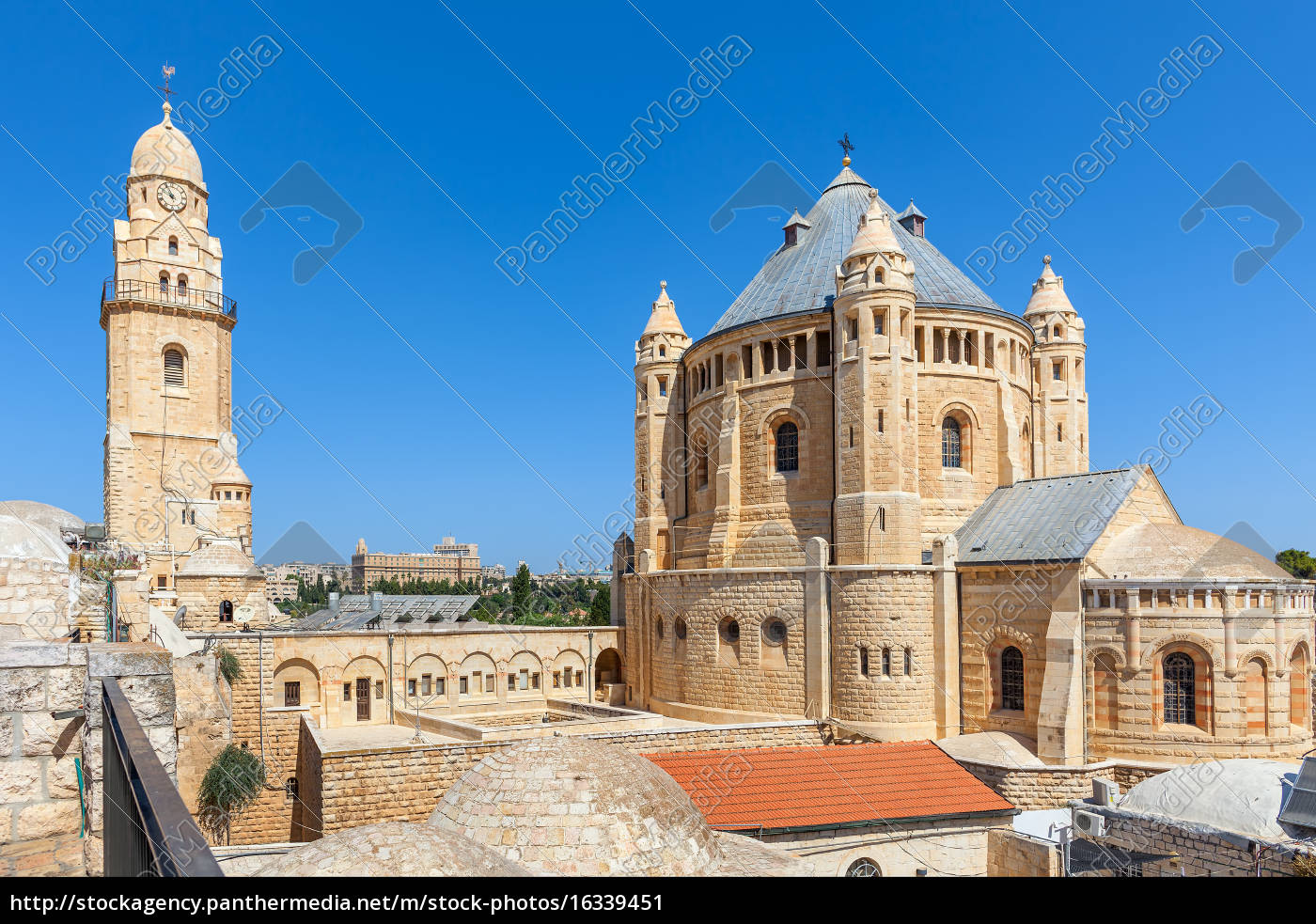 church, of, dormition, in, jerusalem. - 16339451