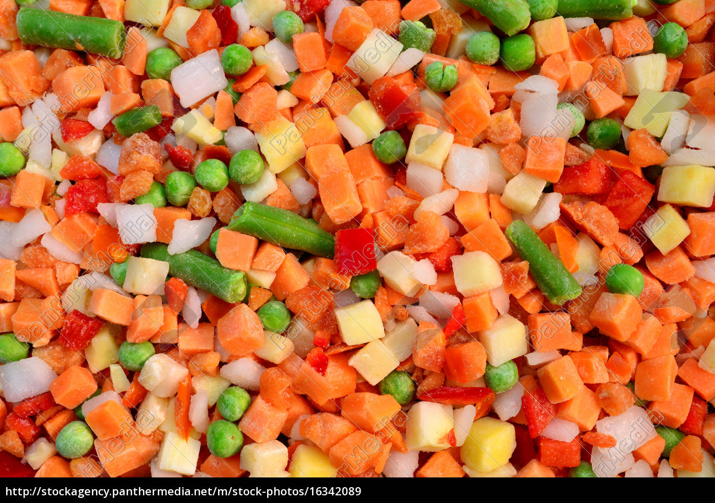 frozen, vegetable, mix - 16342089