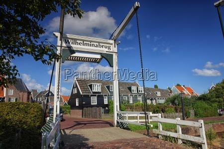 netherlands marken drawbridge