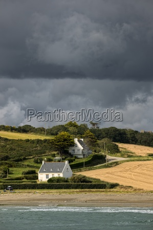 france brittany department finistere sainte anne