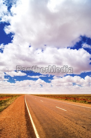 australia northern territory road in rural