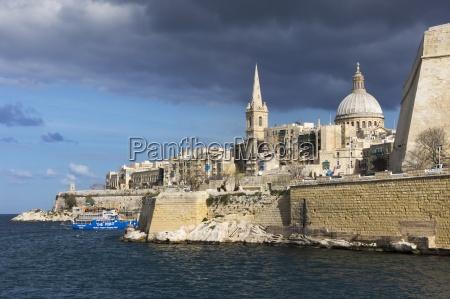 malta valletta basilica our lady of