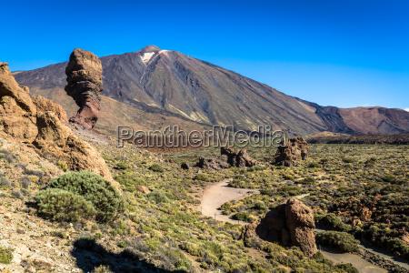 volcano pico del teide el teide