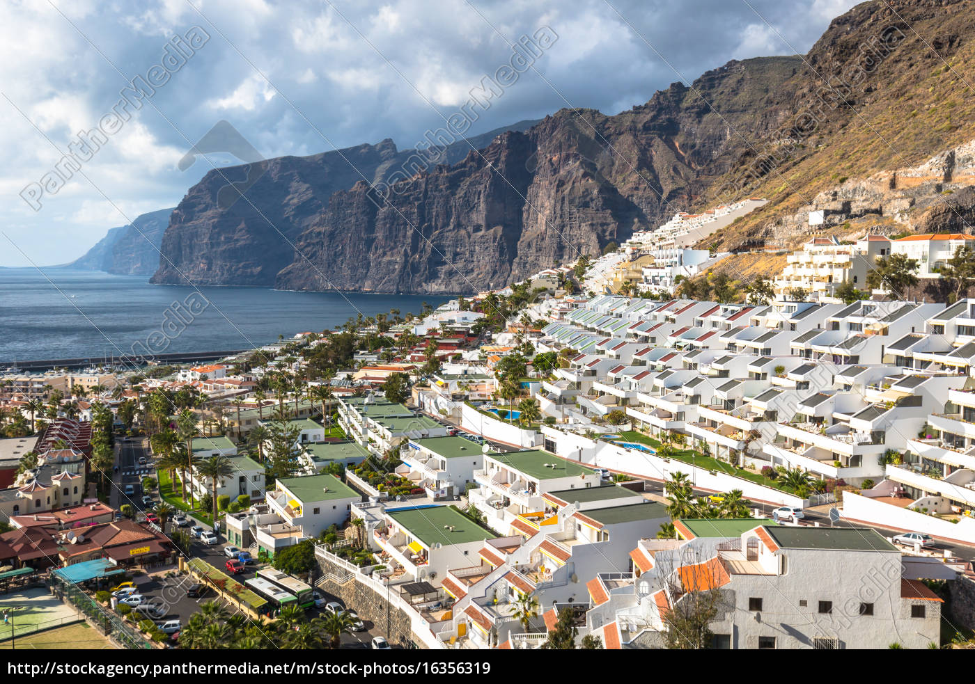 city, of, los, gigantes, in, tenerife, canary - 16356319
