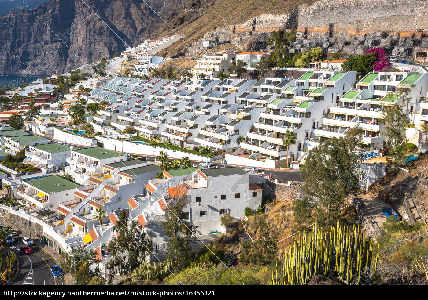 city, of, los, gigantes, in, tenerife, canary - 16356321