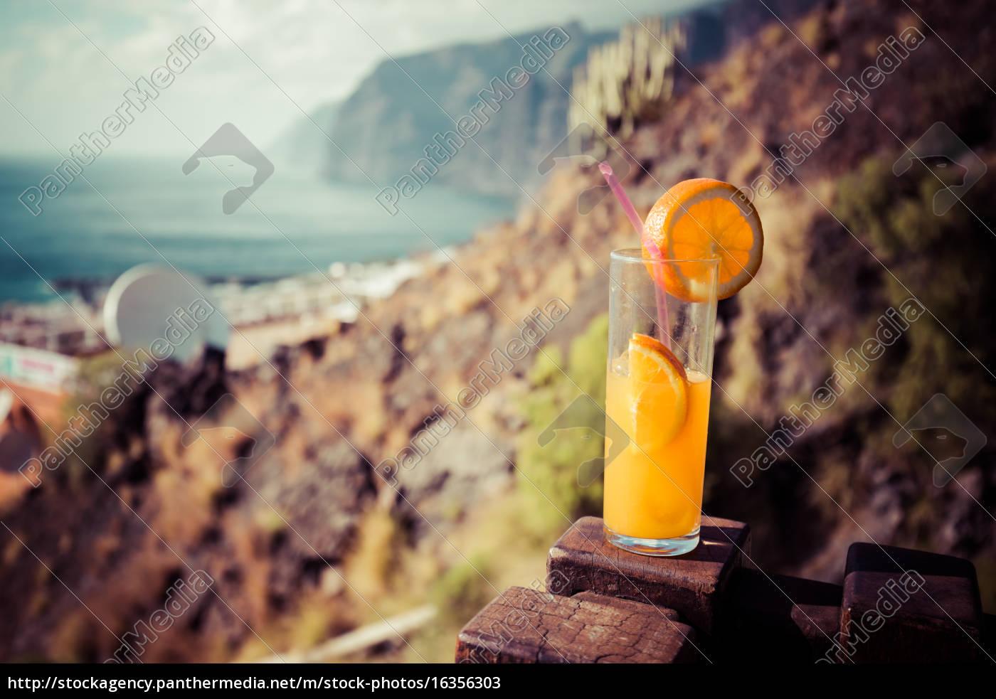 orange, juice, glass - 16356303