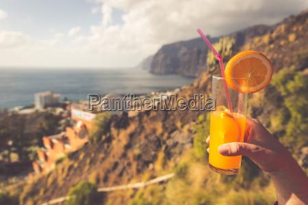 orange, juice, glass - 16356309