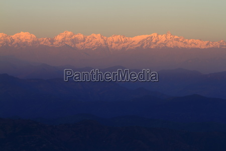 view of the himalaya