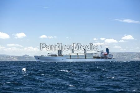 morocco tangier cargo ship
