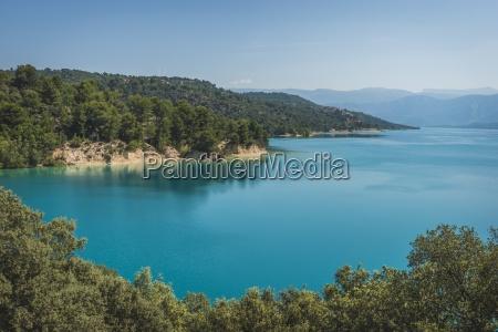 france alpes de haute provence lac