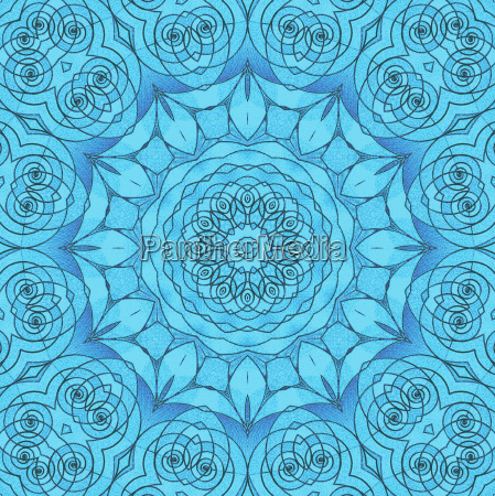 abstract geometric seamless background delicate floral
