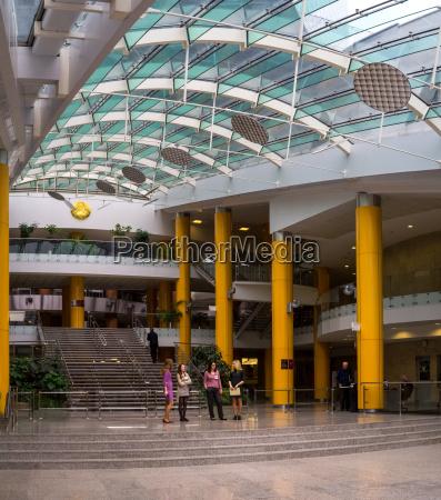 public library modern interior architecture in