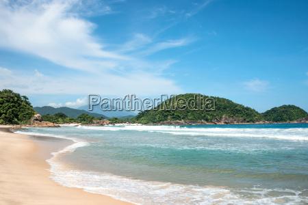 beach in trinidade paraty brazil