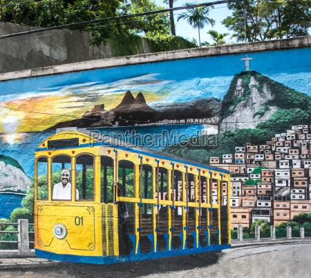 colorful street art depicting a bond