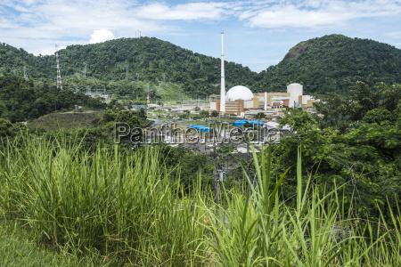 angra nuclear power plant central nuclear