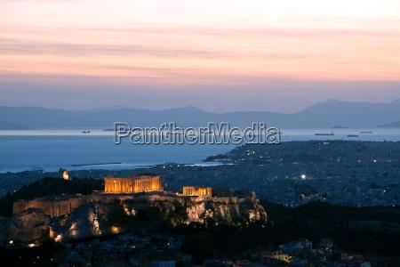 acropolis in athens greece