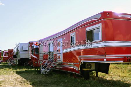 big circus trailer converted into a