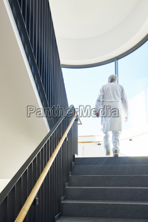 staircase doctor modern clinic