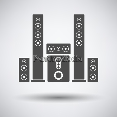 audio system speakers icon