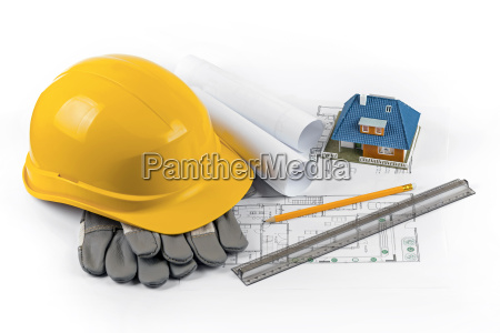 house construction project tools and