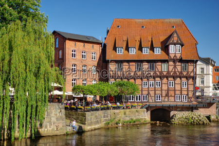 lueneburg old mill in the