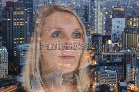 businesswoman business woman portrait hope confidence