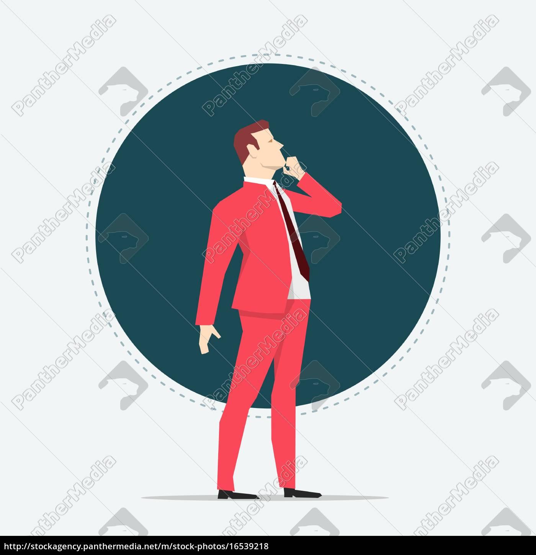 businessman, thinking - 16539218