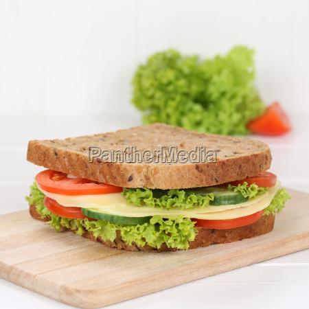 healthy diet sandwich toast for breakfast