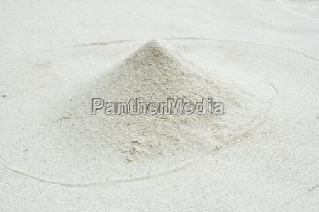 mound of sand