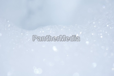 soap suds extreme close up