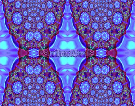 abstract geometric seamless background intricate diamond