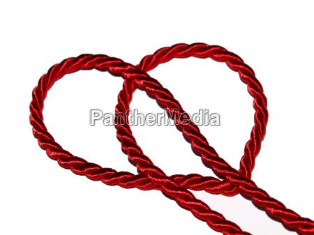 red cord loop