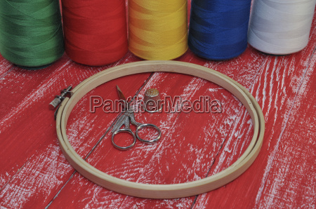 items for needlework and embroidery