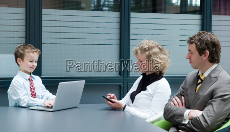 business people having a business meeting