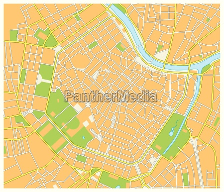 detailed street map of the austrian