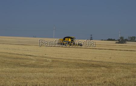 cars work a harvesting season