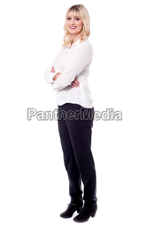 young confident smiling professional lady