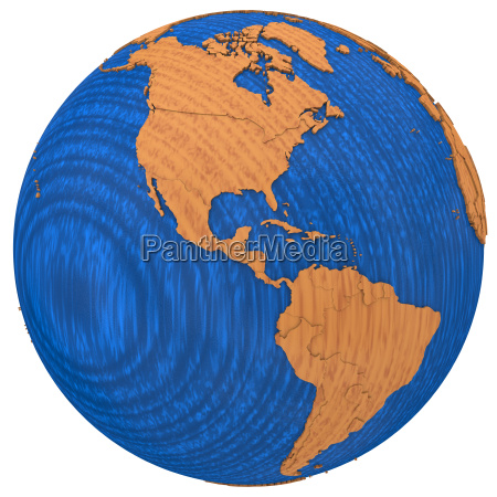 americas on wooden earth