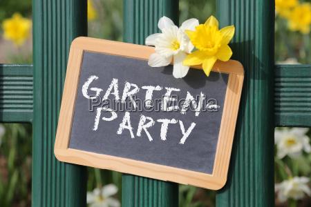 garden party garden party party party