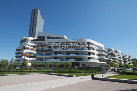 citylife milano residential complex by zaha