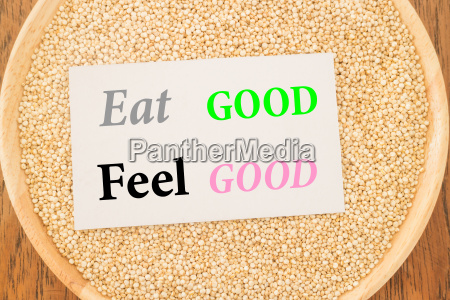 eat good feel good quote on