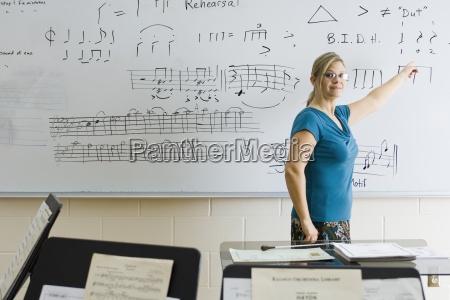 teaching music theory class