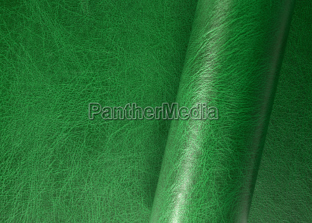 rolled leather surface