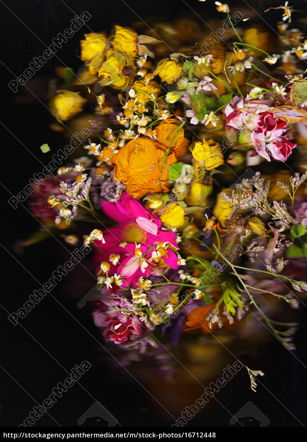 old, baroque, flowers - 16712448 ...
