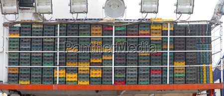 plastic boxes for fish