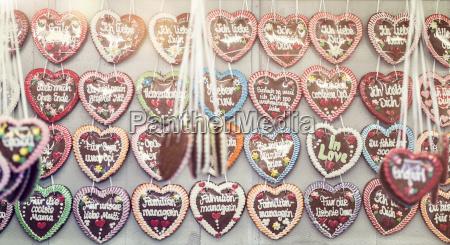 germany, , bavaria, , munich, , rows, of, gingerbread - 16730350