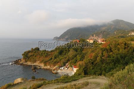 turkey black sea village denizkonak near