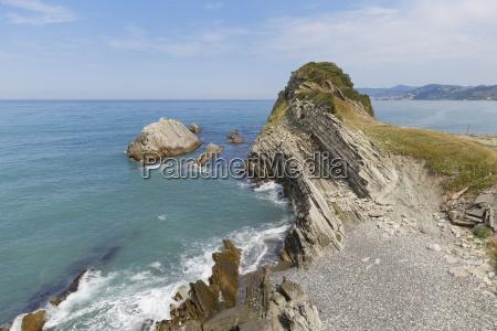 turkey black sea rock coast of